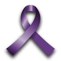 purple ribbon domestic violence awareness
